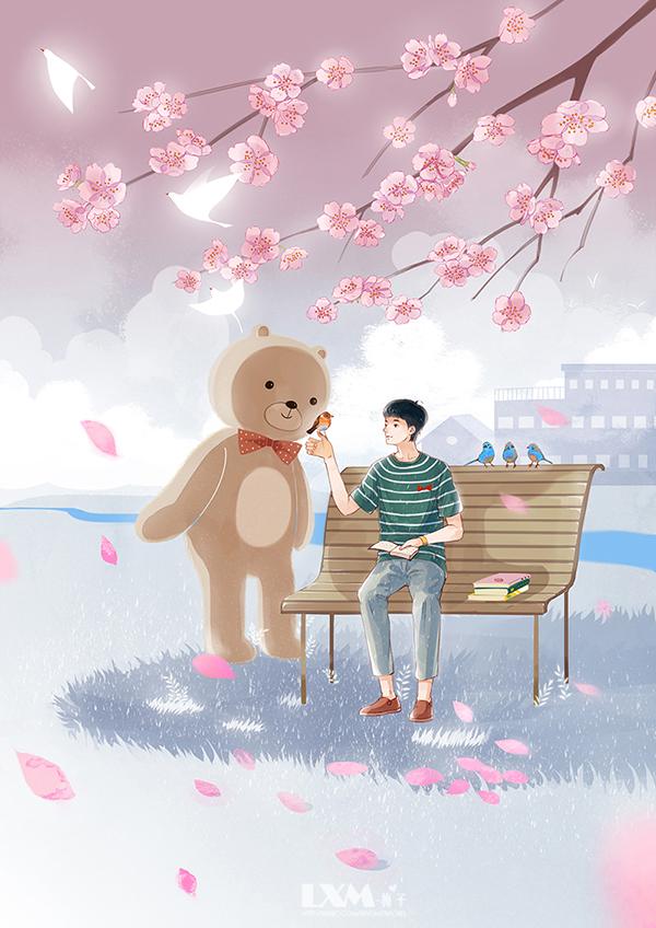 小画片插画欣赏