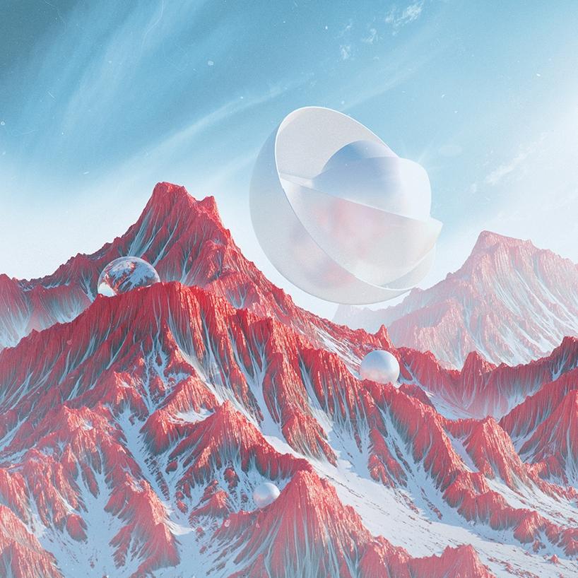 极具科幻感渺淼星球摄影