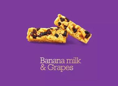 文里杨国设计作品——香蕉牛奶沙琪玛
