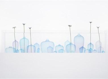 水母花瓶,一件即将在米兰设计周展示的作品