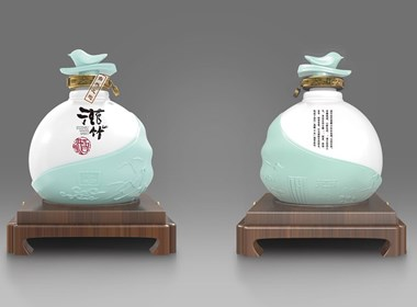 一道设计原创——滋竹酒/酒类包装设计