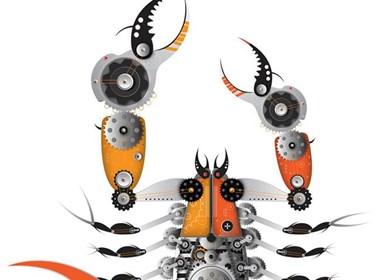 虫子常见,变成机械的虫子有见过吗