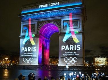 巴黎2024年申奥官方标志设计