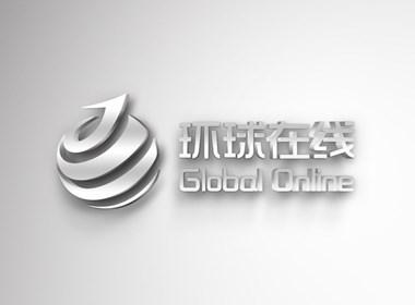 环球在线品牌Logo设计