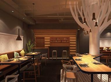 主题餐厅设计-重庆转角一号主题餐厅设计