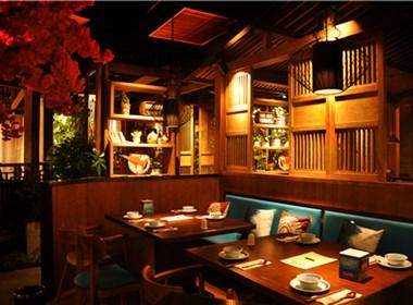 主题餐厅设计-连云港绿茶中餐厅设计