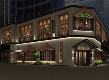 主题餐厅设计-西宁绿茶餐厅设计