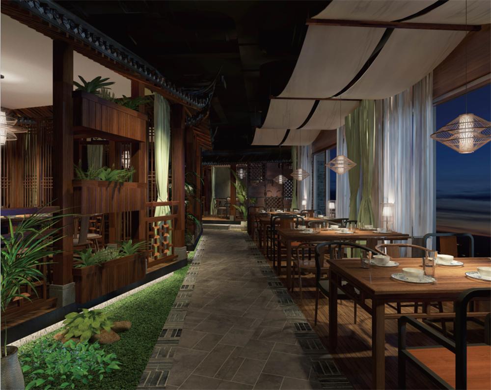 主题食物设计-赣州蟠园餐厅设计-中国设计网餐厅包装设计里卡尔迪著图片