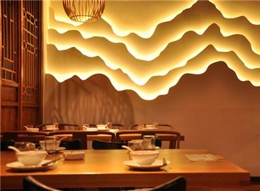 主题餐厅设计-西宁紫荷花主题餐厅设计