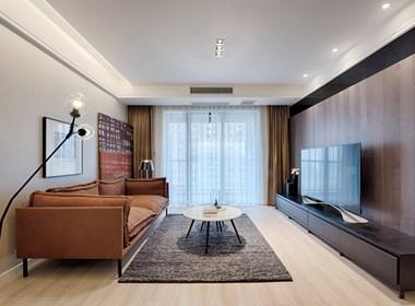 爱马仕橙色风格公寓
