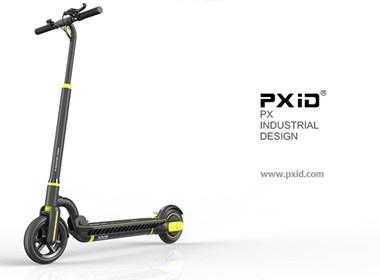 PXID品向工业设计   电动滑板车设计