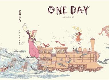 插画绘本—《ONE DAY》