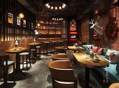 北京晚安啤酒吧-成都酒吧设计丨成都酒吧装修丨古兰装饰