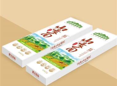 贵州包装设计之山麦面包装设计