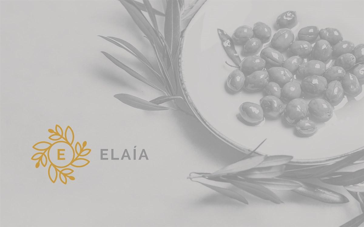 Elaìa橄榄油品牌形象VI设计