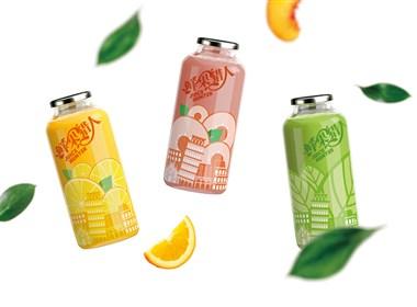 果汁饮料品牌logo设计