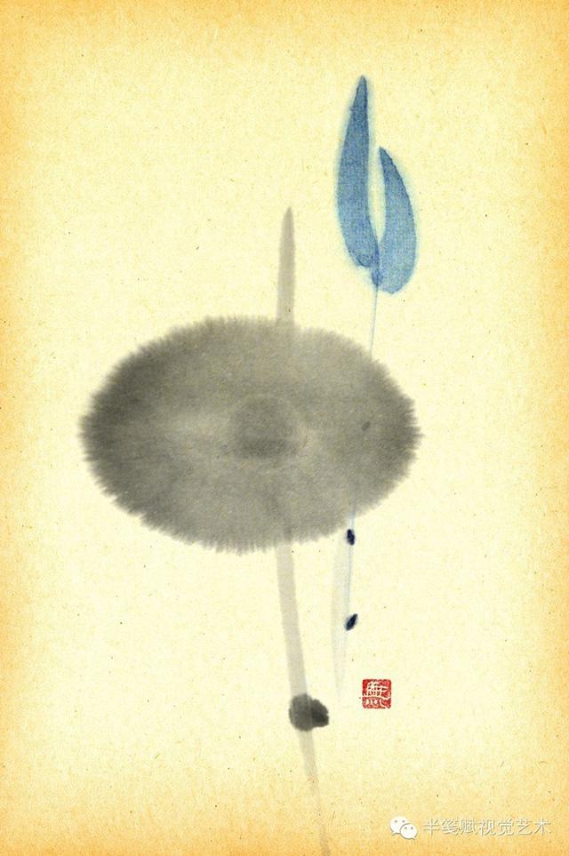 禅·心之意|半笺赋形象设计 绘画作品