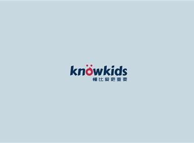 know kids项目内容:logo、UI、VI、slogan