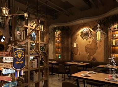 十四城炉渔部落-成都餐厅设计丨成都餐厅装修丨古兰装饰