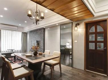 现代风两房公寓