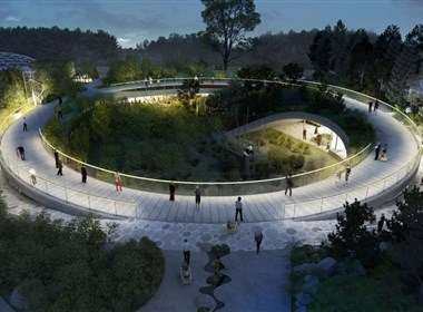 熊猫馆建筑景观