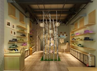 中海国际婴儿用品店-成都店铺设计丨成都店铺装修丨古兰装饰