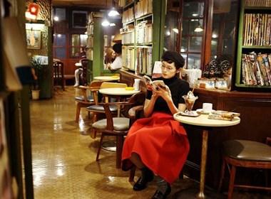 与你分享咖啡馆—人像摄影