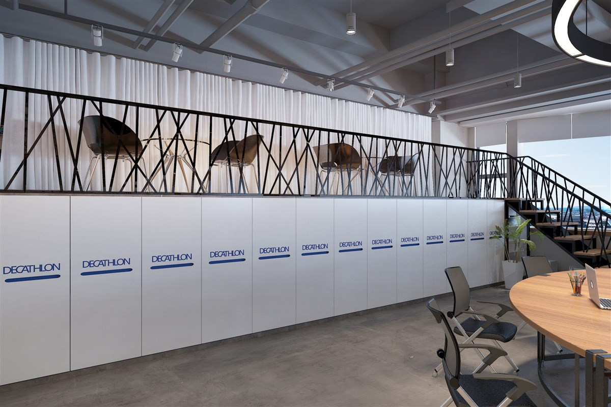 造境设计——迪卡侬办公室