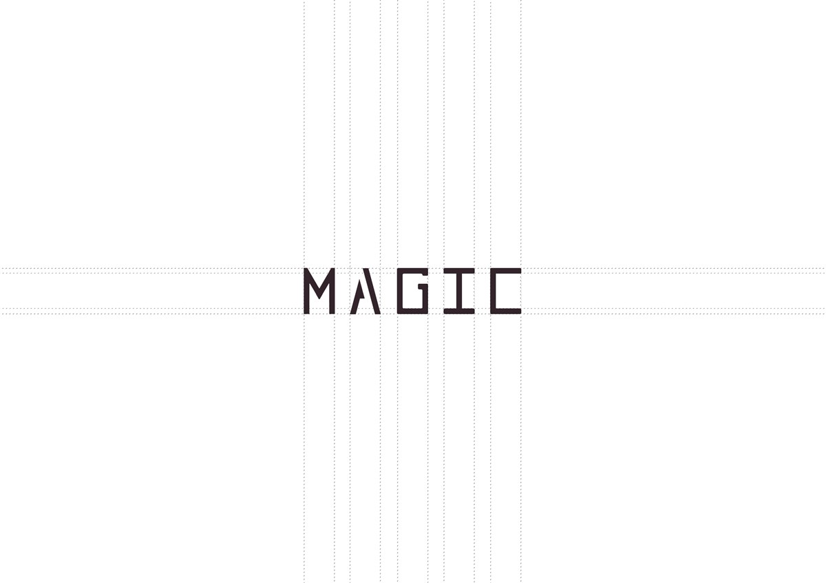 魔法女装logo design