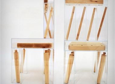 超有视觉感的椅子设计