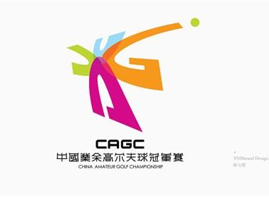 CAGC中國業余高爾夫球冠軍賽品牌VI--時與間設計
