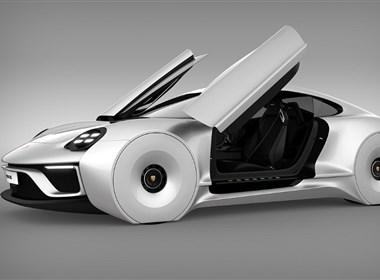 保时捷概念汽车设计欣赏