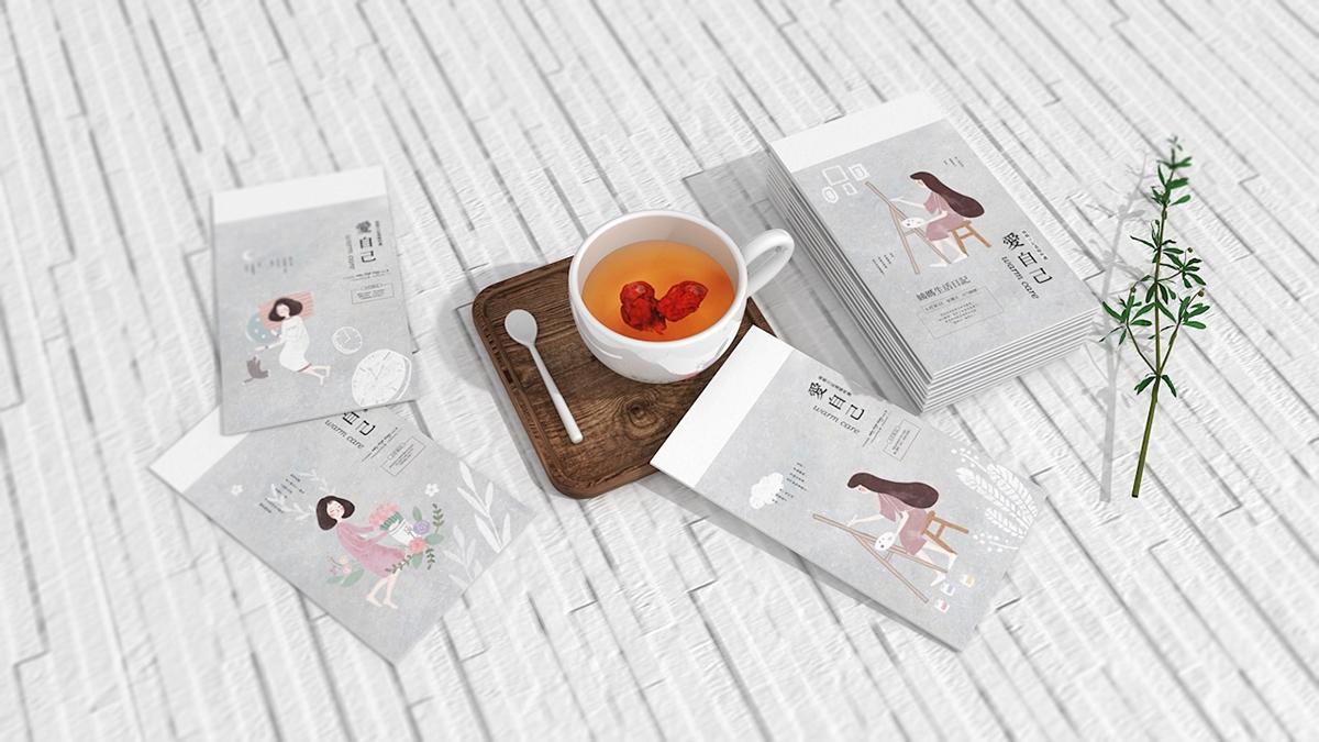 姨妈日记品牌产品设计