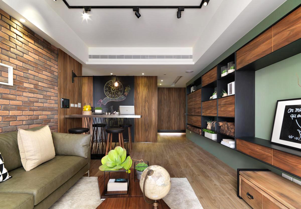 Loft風单层公寓