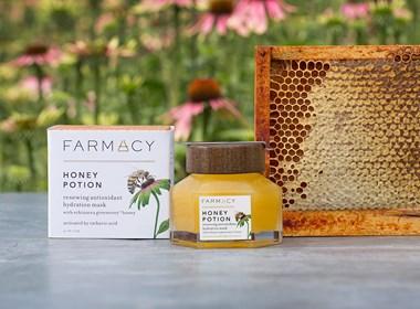 高端蜂蜜水包装