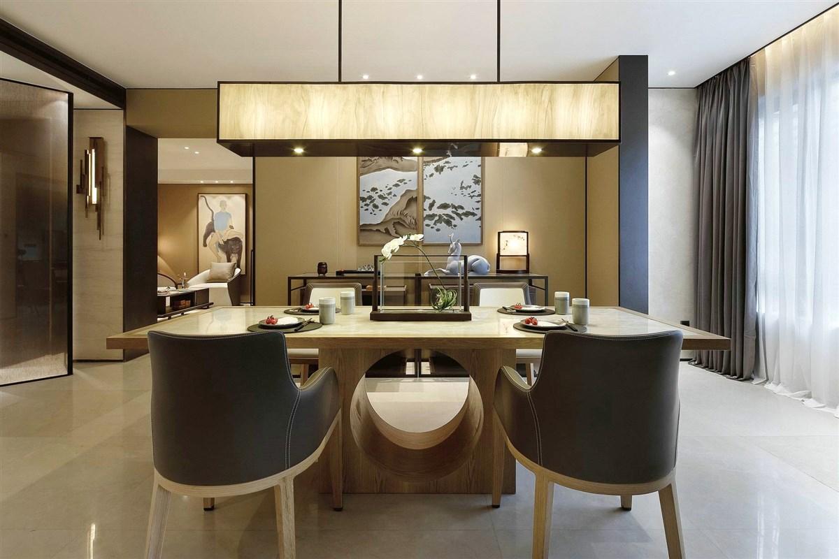 现代中式别墅空间