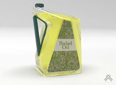 500ml  salad油瓶