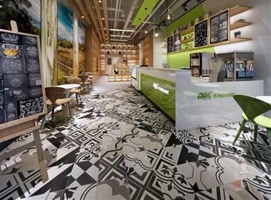 澳洲国际奶吧-成都连锁店设计丨成都连锁店装修丨古兰装饰