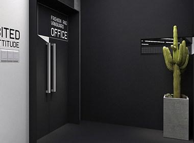 """杜贝设计作品--CHENDINGDING STUDIO办公空间/ 一场""""性冷淡""""游戏"""