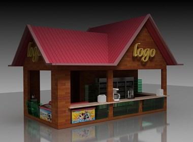 【专卖店效果图设计】门面效果设计|店面设计|装修设计效果图-美庭设计室