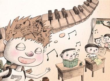 《噼里啪啦王国历险记》插画欣赏