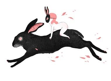 The Black Hare—插画欣赏