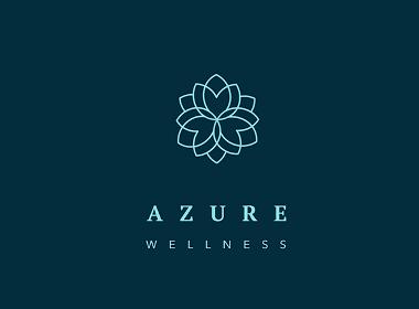 Azure瑜伽工作室品牌标识