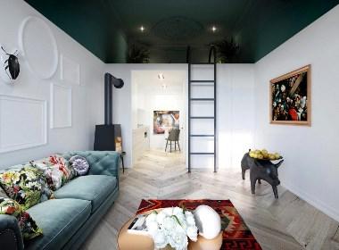 波兰30平米公寓