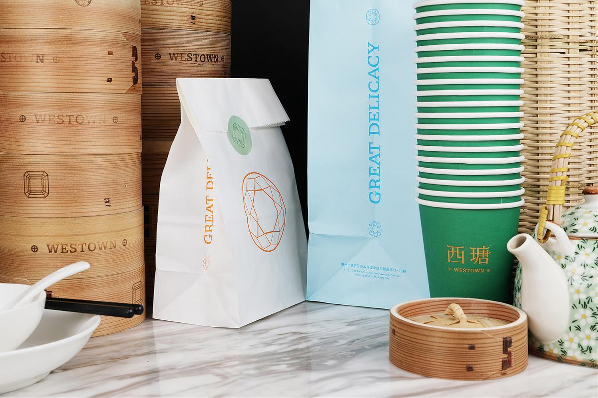SORA设计   西瑭WESTOWN 香港茶餐厅,上海小点心