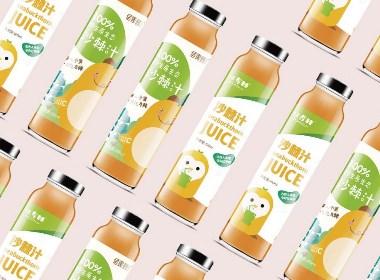 沙棘汁饮料包装设计