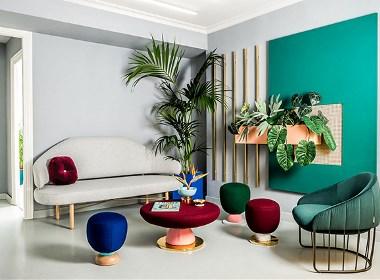 这间设计事务所全是时髦的颜色和好看的植物!
