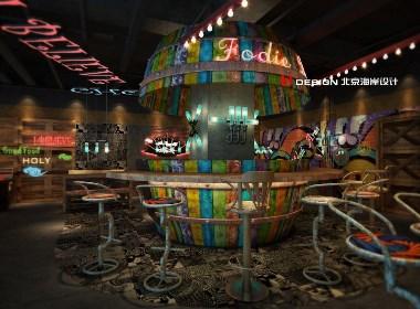 咖啡餐厅设计,重庆吃货 429㎡|北京海岸设计