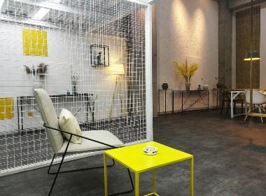 人本空间设计张肃人作品——赤壁怀古(工业风格)