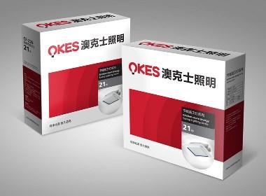 澳克士照明品牌包装设计